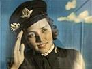 Součástí expozice Ženy a válka jsou protektorátní plakáty.