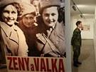 V hrabyňském památníku začala výstava věnovaná ženám ve 2. světové válce.