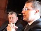 Hejtman hradeckého kraje Lubomír Franc jednal s kardinálem Dominikem Dukou a