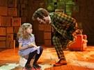 Z londýnské inscenace muzikálu Matilda