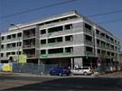 V olomouck� Hynaisov� ulici u� je hotov� hrub� stavba nov� administrativn� a