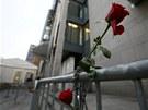 Budovu soudu, kde za�al ost�e sledovan� proces sAndersem Breivikem kdosi