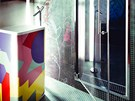 Excentrick� samostatn� stoj�c� umyvadlo Monowash je od firmy Flaminia.