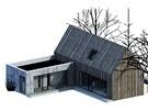 V�t�zn� n�vrh architektonick� sout�e Sou�asn� �esk� d�m od studenta Tom�e