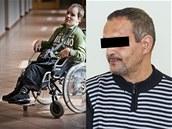 Sanitář Oldřich F. (vpravo) měl údajně pohlavně zneužít sedmadvacetiletého
