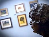 Dalším Kupkovým dílem je busta autorovy manželky Eugenie z let 1924-1929. Jedná...