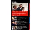 Aplikace iDnes.cz pro Windows Phone