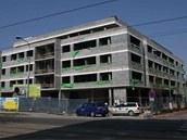 V olomoucké Hynaisově ulici už je hotová hrubá stavba nové administrativní a