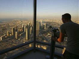 Pohled na Dubaj z nejvyšší budovy světa