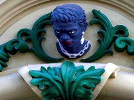 Symbol cenného opavského domu U Mouřenína.