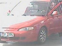 Zaběr na fantoma bezninových stanic na Ostravsku, který s autem s kradenou