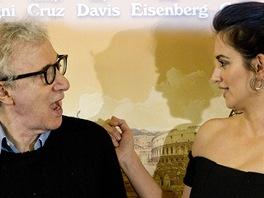 Woody Allen a Penelopé Cruzová představují nový film To Rome with Love