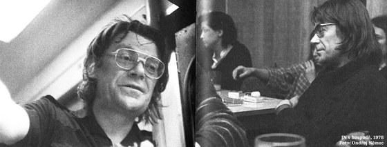 Z fotografické přílohy knihy Jiřího Němce Dopisy z Ruzyně a Nové šance svobody