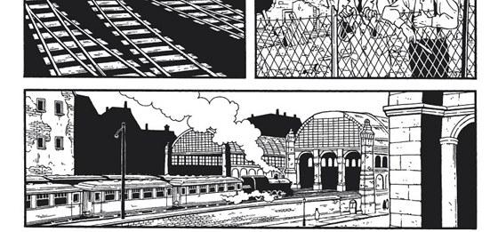 Uk�zka z komiksu Berl�n: M�sto kamene