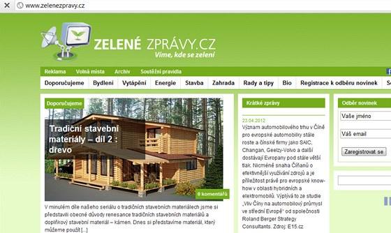 Zelenézprávy.cz