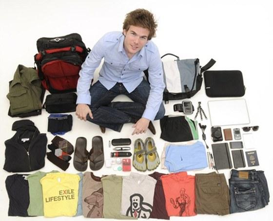 Colin Wright a jeho kompletní majetek