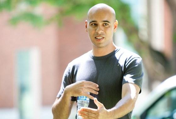 Leo Babauta při jedné ze svých přednášek