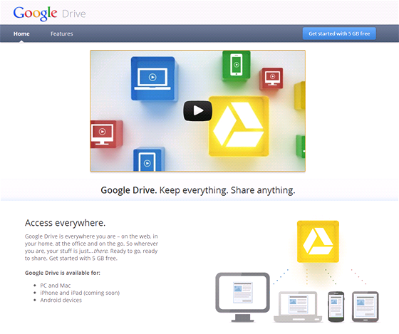 Google Drive - úvod