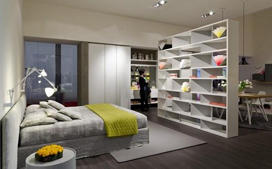 Veletrh nabízel i řešení pro malé byty či singles.