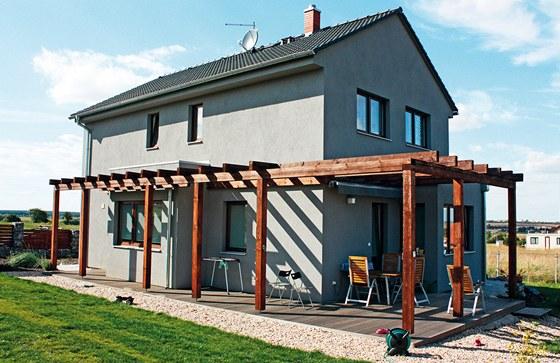 Domy společnosti Ekonomické stavby jsou dodávány v nízkoenergetickém provedení.