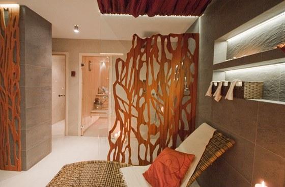 Dekorativní panely jsou příjemným oživením místnosti.