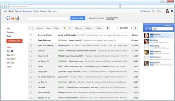 Xobni vám pomůže se správou e-mailů nejen v prostředí Outlooku, ale také v