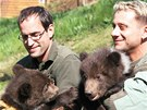Potomci medvědice Kamčatky z brněnské zoo jsou kluci, zjistili jejich
