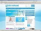 Weby politických partají napadli hackeři (28. dubna 2012)