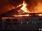 Plameny způsobily ve čtvrtek 19. dubna milionovou škodu na budově bývalé