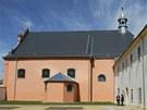 Zrekonstruovaný klášter v Hostinném
