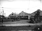 Dv�r vozovny kolem roku 1917