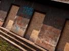 Hřiště bývalé Rudé hvězdy v Hradci Králové je v žalostném stavu.