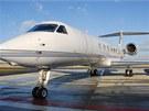 Nejbohatší Čech Petr Kellner prodává svůj první tryskáč - Gulfstream 500 -