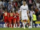 ZKLAM�N�. V�raz Karima Benzemy je v�mluvn�, za n�m slav� fotbalist� Bayernu