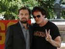 Quentin Tarantino a Leonardo Dicaprio