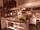Kuchyně v retro stylu nemohly chybět.