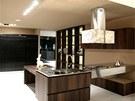 Luxusní kuchyni Royale pro firmu Aran navrhl Marco Corti.