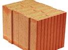 Porotherm 36,5 T Profi jsou plněny minerální vatou a při dané tloušťce stěny