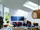 I pultová nebo rovná střecha může vnést do interiéru světlo pomocí speciálních