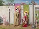 Nepojmenovaný obraz malíře Jana Knapa z roku 2006.