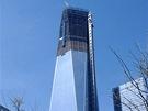 Věž 1WTC se začala stavět v dubnu roku 2006. Prvních 56 metrů od země je budova...