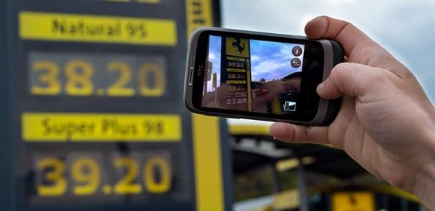 Ceny benzinu, ilustra�ní foto. (20. dubna 2012, Praha)
