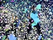 Zp�v�k skupiny Coldplay Chris Martin zp�v� b�hem koncertu skupiny v kanadsk�m...