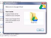 Google Drive - synchronizace