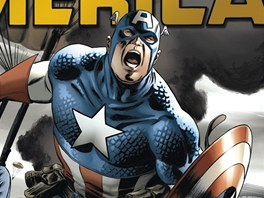 Ob�lka komiksu Captain America omnibus 1