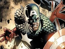 Obálka komiksu Captain America omnibus 2