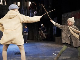 Z inscenace Divadla v Dlouhé Tři mušketýři