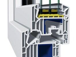 Výsledkem inovativmí vícekomorové geometrie je vynikající tepelná izolace