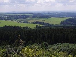 Tepelská vrchovina z Podhory