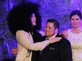 Chaz Bono s matkou Cher